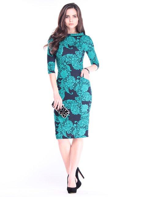 Платье в принт Laura Bettini 2995885