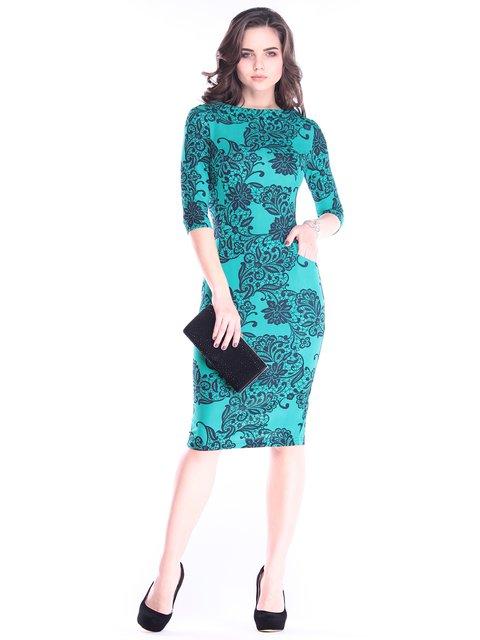 Платье в принт Laura Bettini 2995886