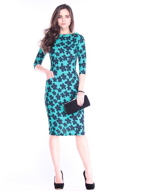 Платье в принт Laura Bettini 2995893