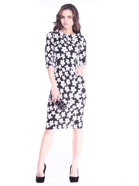 Сукня в принт Laura Bettini 2995894