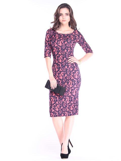 Платье в принт Dioni 2995908