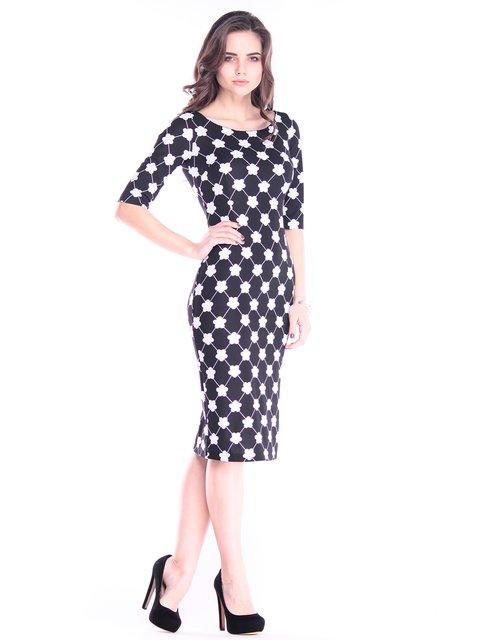 Платье в принт Dioni 2995915