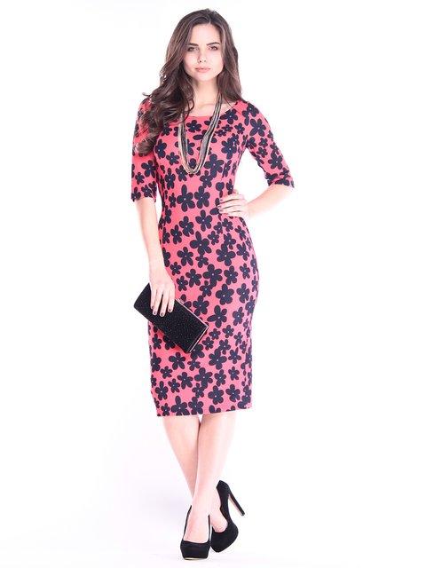 Платье в принт Dioni 2995918