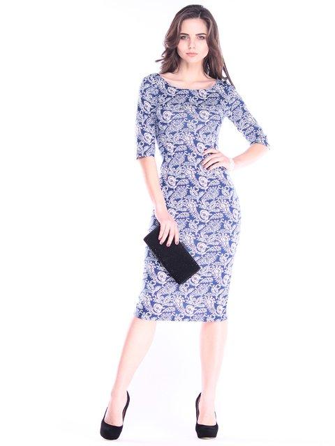 Платье в принт Dioni 2995923