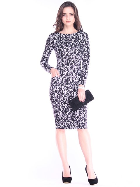 Сукня в принт Rebecca Tatti 2996608