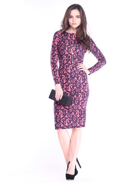 Сукня в принт Rebecca Tatti 2996610