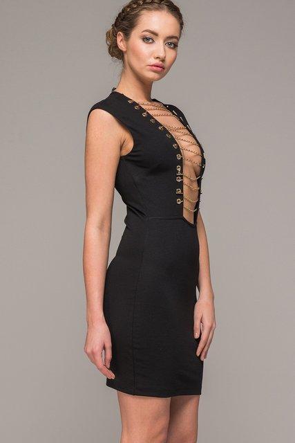 Платье черное KIKIRIKI FASHION 3370734