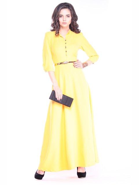 Платье желтое Rebecca Tatti 3091290
