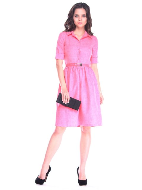 Платье коралловое Dioni 3314720