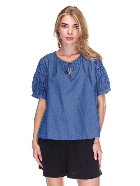 Блуза синя Massimo Dutti 3381635