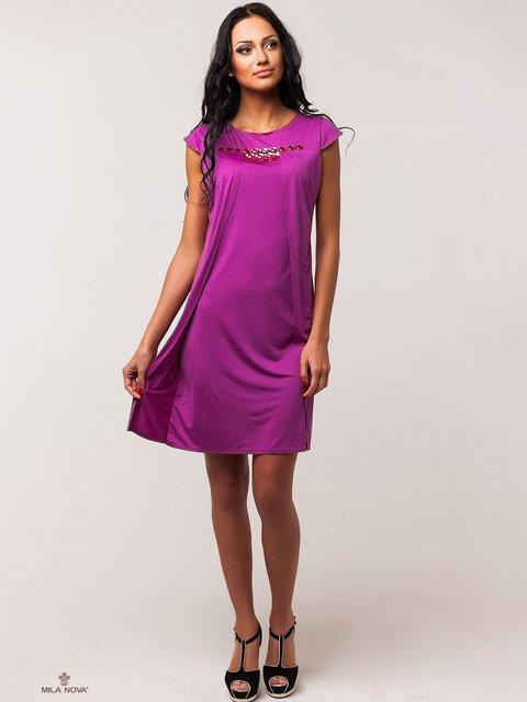 Сукня пурпурового кольору Mila Nova 2386059
