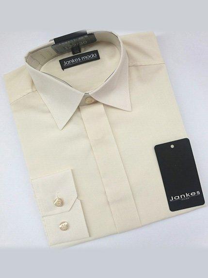 Рубашка светло-молочная JANKES 3408657