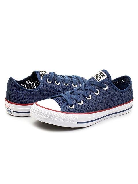 Кеды синие с фирменным логотипом Converse 3400893