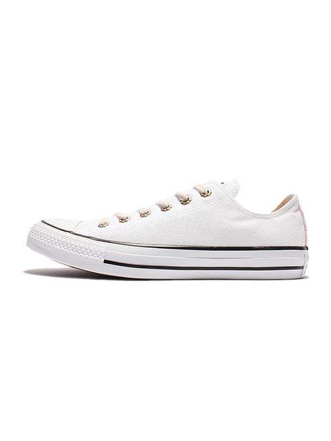 Кеди білі з фірмовим логотипом Converse 3400927