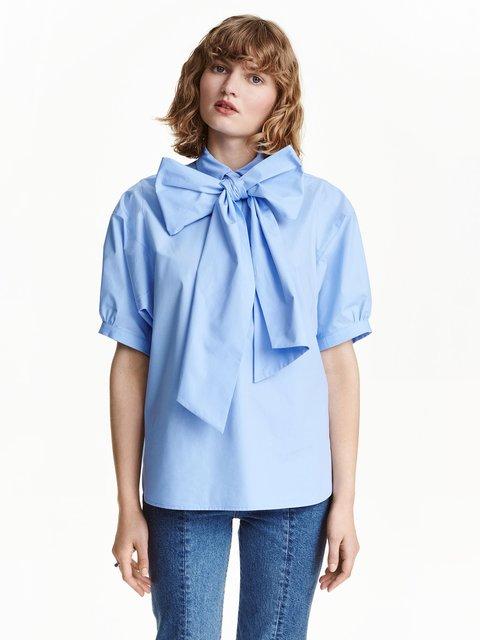 Блуза блакитна H&M 3384036