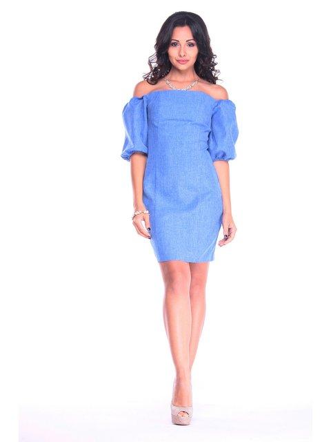 Сукня кольору електрик Dioni 3218869