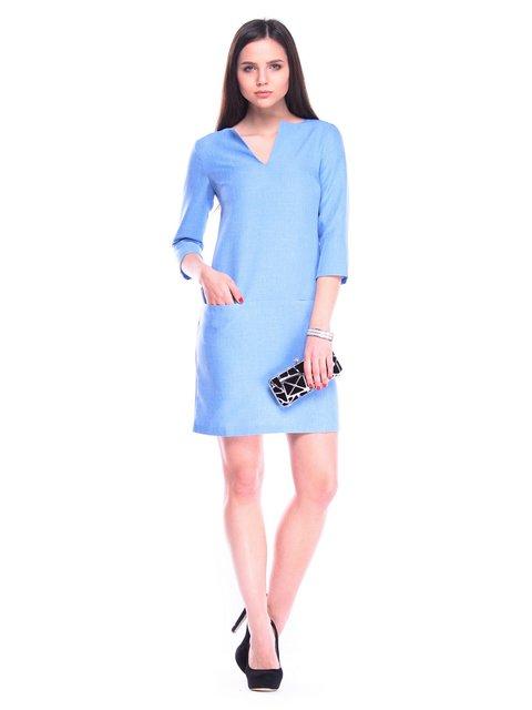 Платье голубое Laura Bettini 3323264