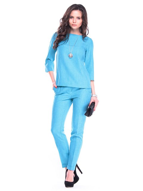 Костюм: блуза и брюки Laura Bettini 3323265