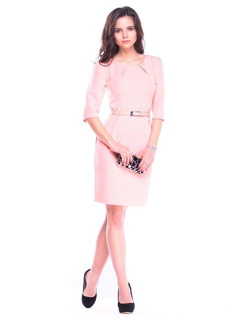 Платье персикового цвета Dioni 3323485