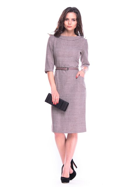 Платье цвета мокко Maurini 3323525