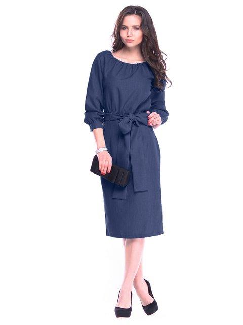 Сукня темно-синя Rebecca Tatti 3323547