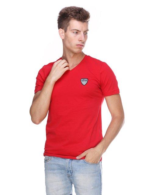 Футболка червона Emporio Armani 3411399