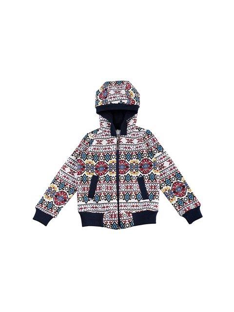 Толстовка в орнамент Kids Couture 3419702
