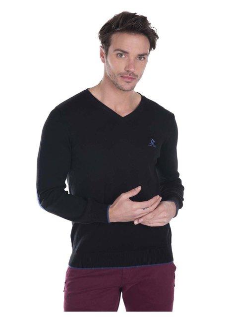 Пуловер чорний Giorgio di Mare 3168779