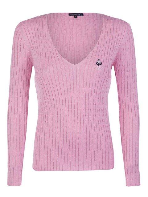 Пуловер розовый Giorgio di Mare 3420932