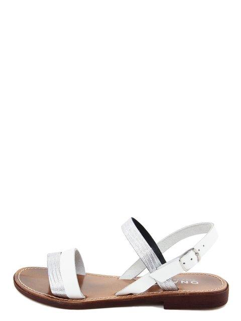 Сандалії сріблясто-білі Onako 3435501