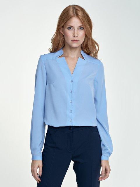 Блуза голубая Nife 3434878