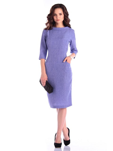 Платье фиолетовое Maurini 3400747