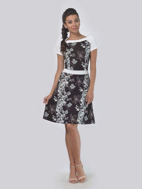 Платье в цветочный принт AGATA WEBERS 3445210