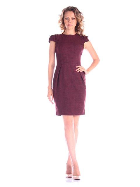 Платье темно-сливовое Victoria Loks 3454956