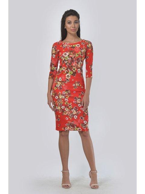 Платье в цветочный принт LILA KASS 3459117
