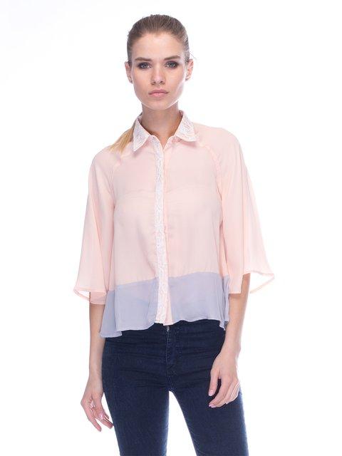 Блуза бежева Poppy Lux 3453660