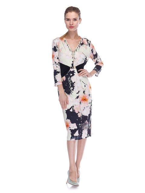 Сукня комбінованого забарвлення Elisa Fanti 3455627