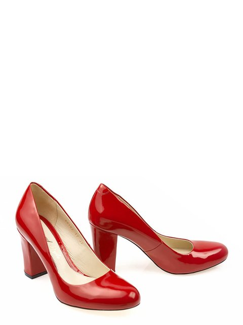 Туфлі червоні LeoModa 3462385
