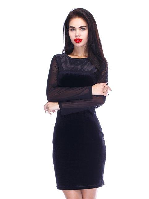 Сукня чорна оксамитова CELEBRITY 3406370