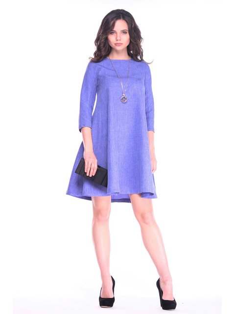 Платье фиолетовое Laura Bettini 3470303