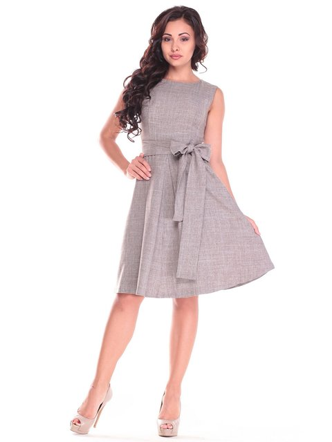 Платье цвета мокко Dioni 3470688