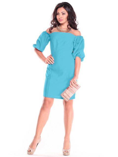 Сукня кольору зеленої бірюзи Dioni 3470724