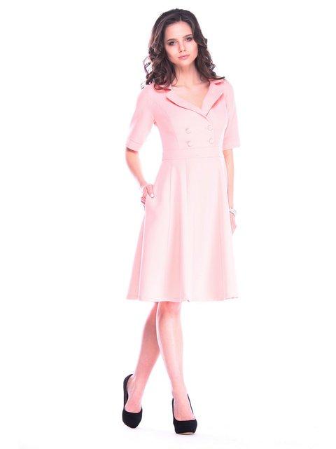 Платье персикового цвета Maurini 3471005