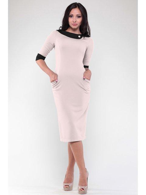 Платье бежевое Maurini 3471085