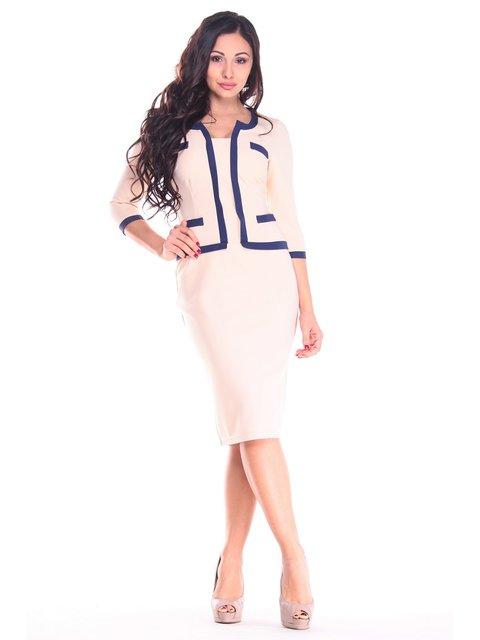Платье бежевое Maurini 3471089