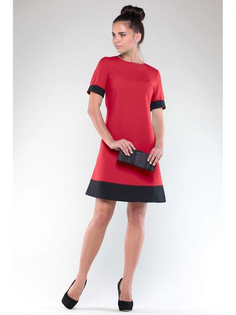 Платье красно-черное Rebecca Tatti 3471407