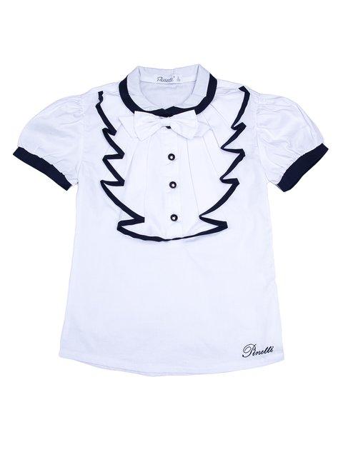 Блуза белая Pinetti 3475263