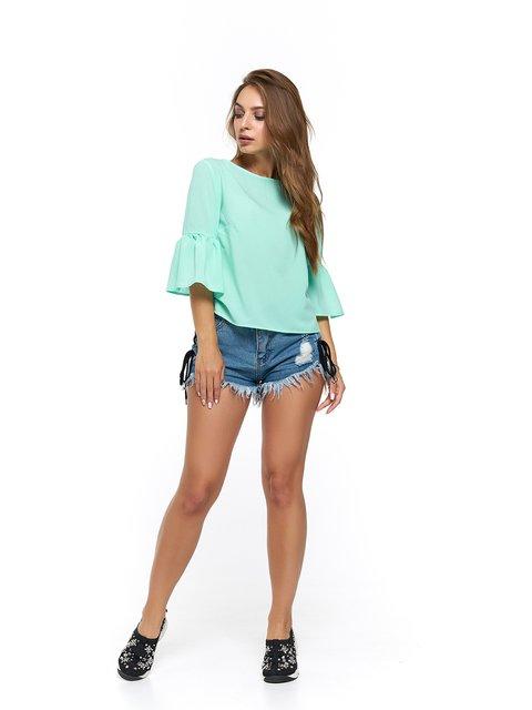 Блуза мятного цвета MOONLIGHT 3475002