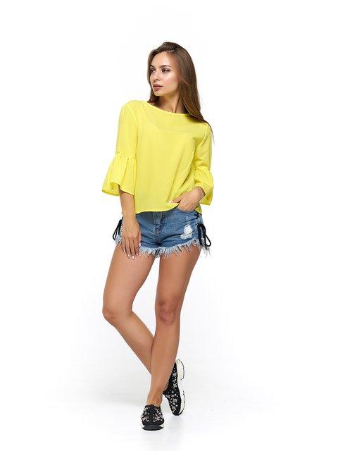 Блуза жовта MOONLIGHT 3475006