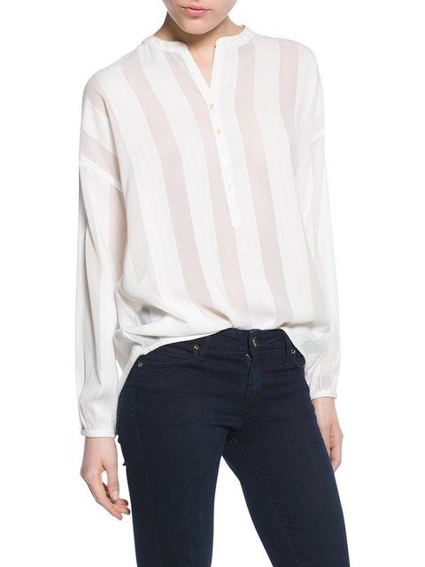 Блуза белая Mango 2350747